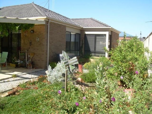 Home exchange in,Australia,STRATHFIELDSAYE,Side Garden - rear of house.