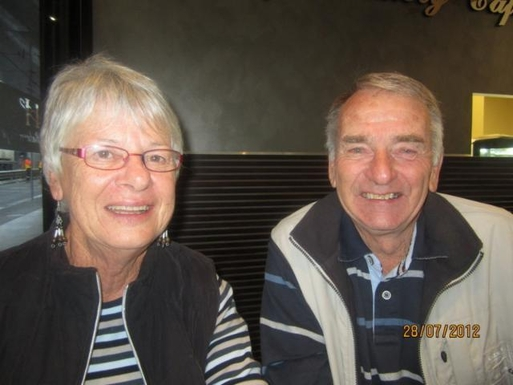 Home exchange in,Australia,STRATHFIELDSAYE,Julie and I - not the most beautiful couple but a