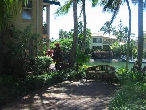 Home exchange in,Australia,TWEED HEADS,View from patio
