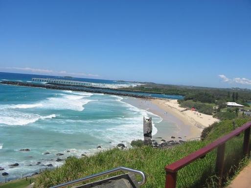Home exchange in,Australia,TWEED HEADS,Durandar beach from Point Danger