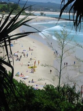 Home exchange in,Australia,TWEED HEADS,Rainbow Bay Surf beach
