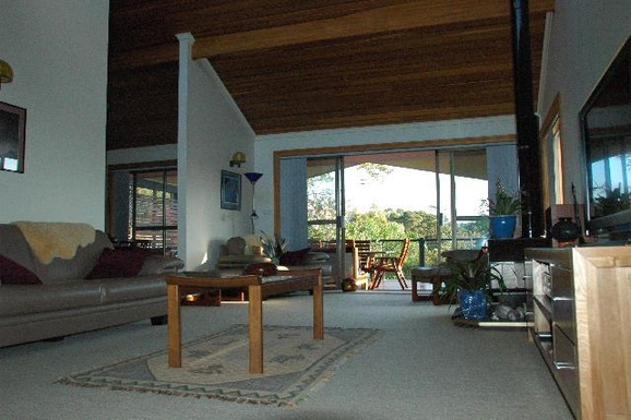 Home exchange in,Australia,KORORA,Main lounge & dining.