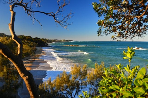Home exchange in,Australia,KORORA,Korora Beach from Walking track