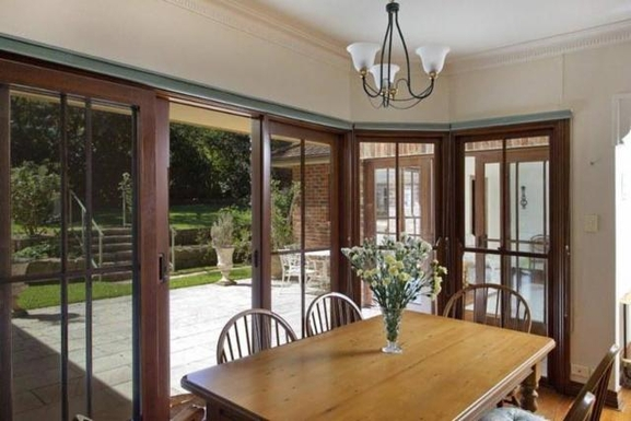 Home exchange in,Australia,PYMBLE,Back garden from kitchen/informal dining