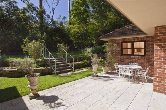 Home exchange in,Australia,PYMBLE,Back garden area. Gets lovely morning sun.