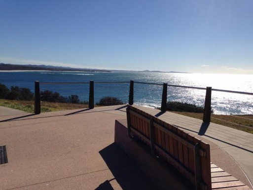 Home exchange in,Australia,WOOLGOOLGA,Local viewing area. Great for whale watching.