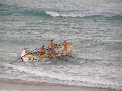 Home exchange in,Australia,TUGUN,Surf lifesavers practising