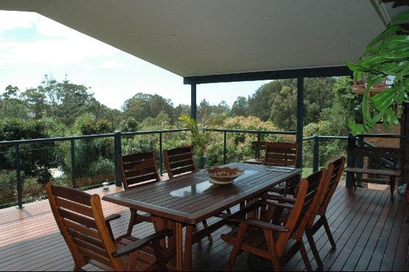 Home exchange in,Australia,KORORA,Our favourite part of the house, beach beyond the