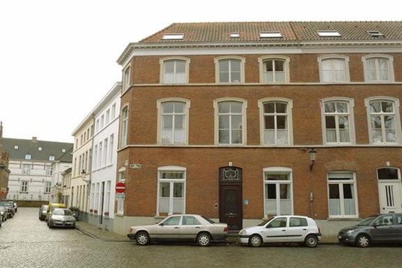 18th century renovated house in historical Bruges