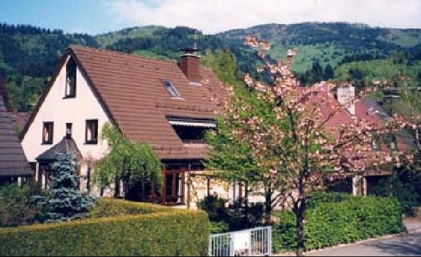house and surrounding foothills of Black Forest