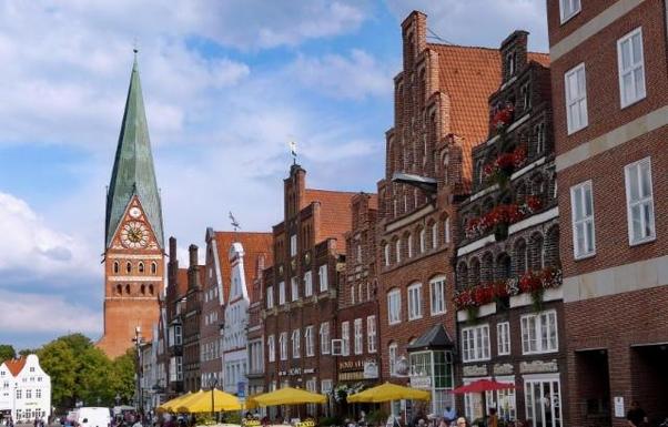 Johanniskirche mittelalterlichen Platz 'Am Sande'
