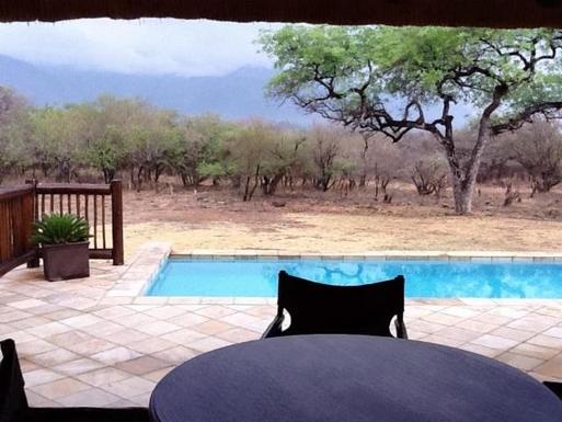 BoligBytte til,South Africa,Hoedspruit,Terrace and pool
