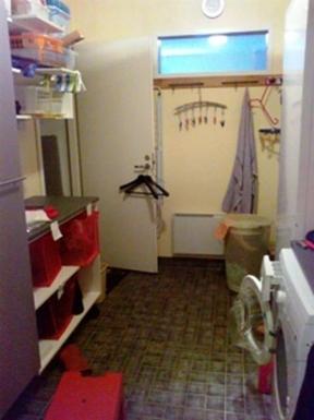 BoligBytte til,Finland,Villähde,Laundry room