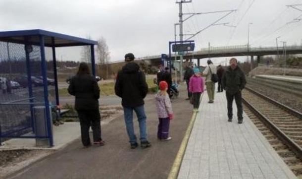 BoligBytte til,Finland,Villähde,Villähde train stop