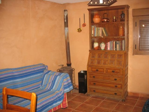 BoligBytte til,Spain,Castillo (Pinofranqueado),Living room by the stove