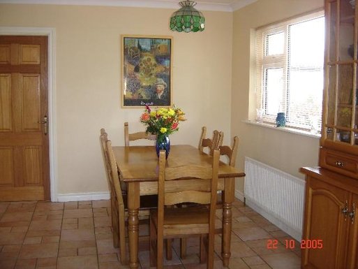 Home exchange in,Ireland,Galway City,Kitchen dining area