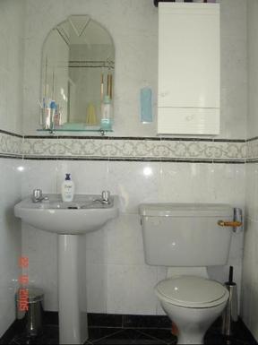 Home exchange in,Ireland,Galway City,Bathroom off master bedroom