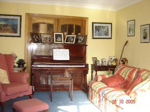 Home exchange in,Ireland,Galway City,Piano Room