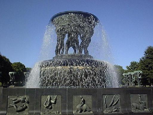 BoligBytte til,Norway,Oslo,Vigelandspark - many sculptures to see