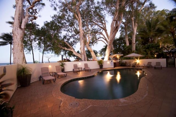 Home exchange in,Australia,Cairns, 25k, N,Pool and barbecue area