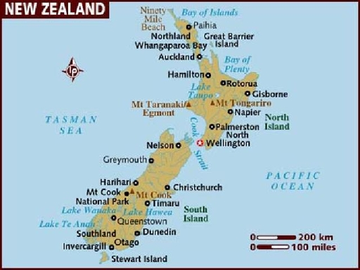 BoligBytte til,New Zealand,Nelson,Nelson is the geographic center of New Zealand.