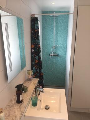 BoligBytte til,Sweden,Upplands väsby,The shower in the bathroom