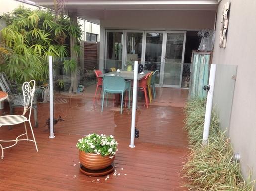 Home exchange in,Australia,Tewantin,Front deck, al fresco meals!