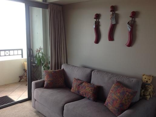 Home exchange in,Australia,Brisbane,Second bedroom sofa bed