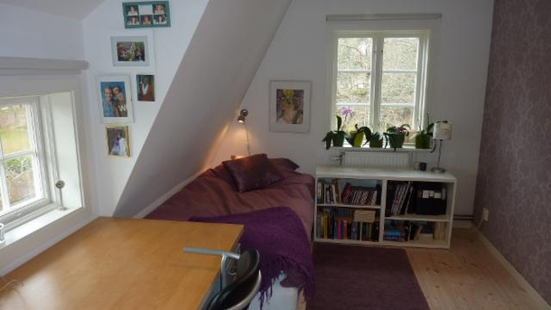 "BoligBytte til,Sweden,Stockholm, 8k, N,Märta's bedroom, now cobined with Bengt's ""office"""