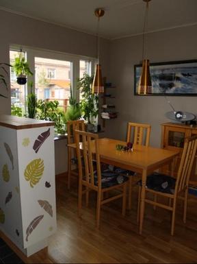 BoligBytte til,Sweden,Stockholm, 0k, SE,Sitting area in the kitchen