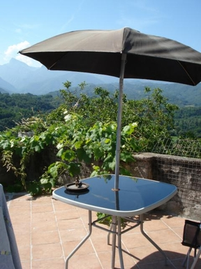 Home exchange in Italy,Moncigoli, Massa and Carrara,il Porticato, village home with lovely views,Home Exchange  Holiday Listing Image