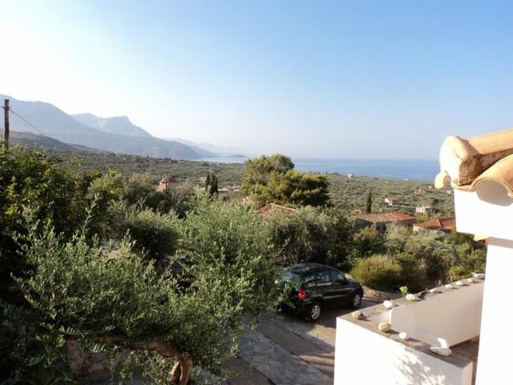 BoligBytte til,Greece,Kalamata, 30m, S,View from the balcony.