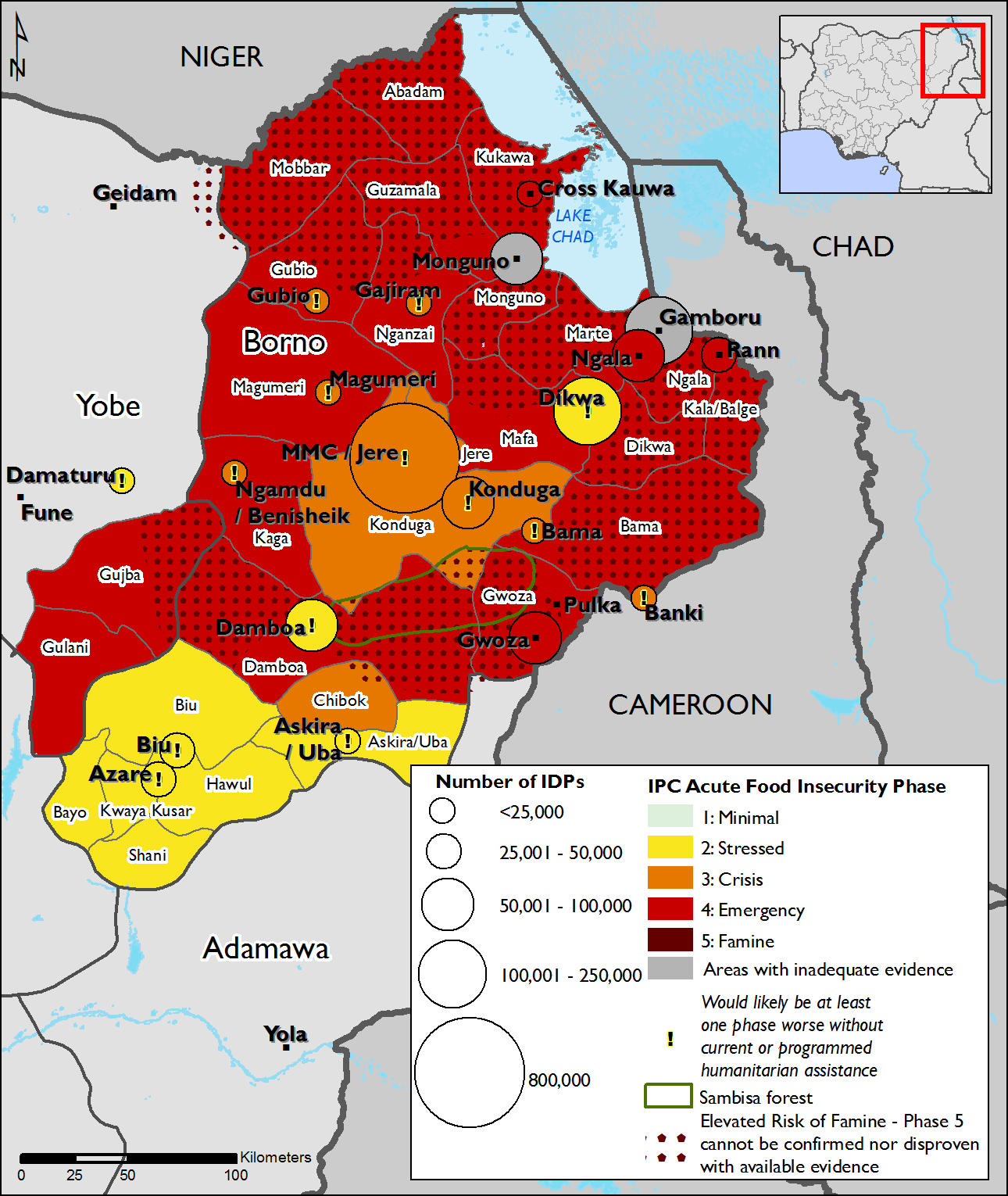 Northeast nigeria maps and mapping data famine early warning northeast nigeria maps and mapping data ccuart Choice Image