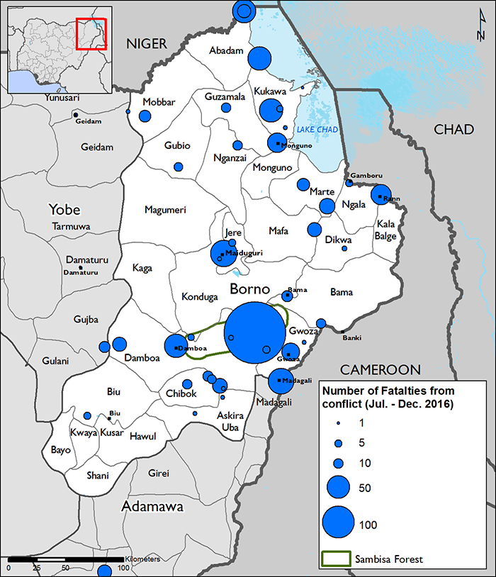 Northeast Nigeria Maps and Mapping Data | Famine Early Warning ...