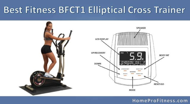 Best Fitness BFCT1 Elliptical Review