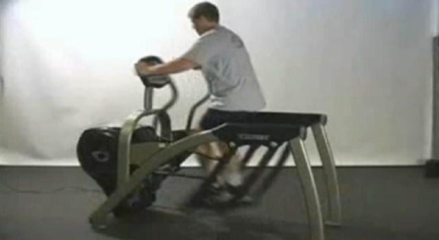cybex arc trainer tv setup