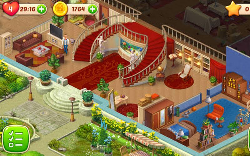 Homescapes Game Screenshot