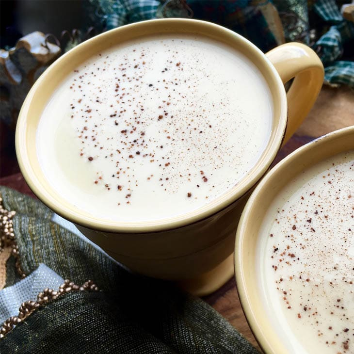 Cooked Non Alcoholic Eggnog Recipe