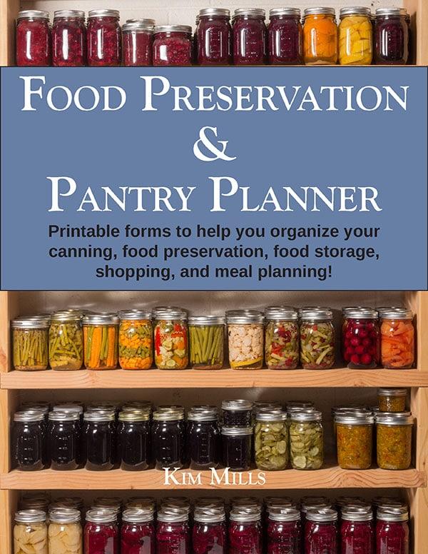 Food Preservation Planner