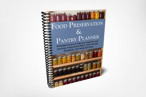 Pantry Food Preservation Planner
