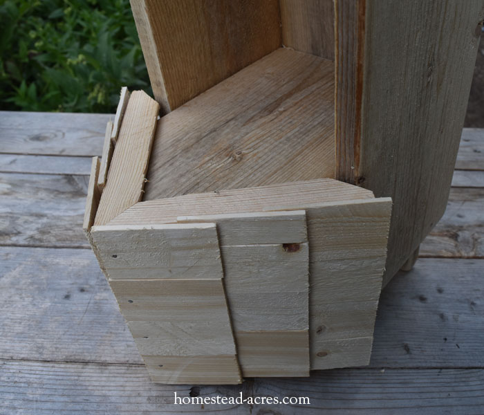 Birdhouse Planter Face Trim