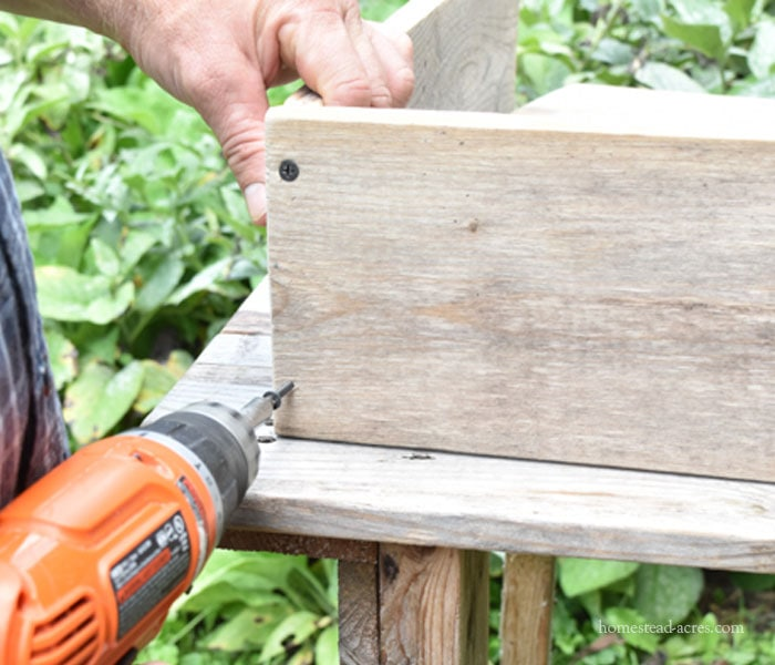 Making A DIY Compost Sifter