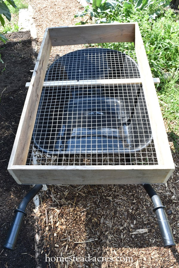 compost sifter DIY