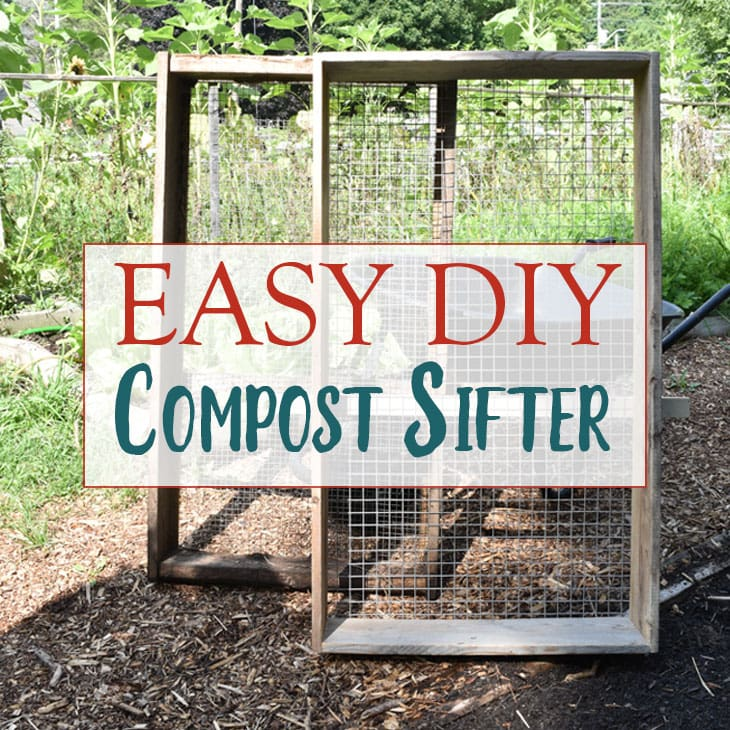 Compost Sifter Plans