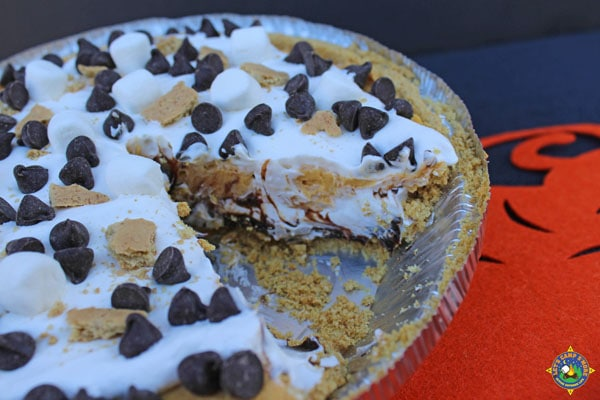 Chocolate Pumpkin Cream Pie