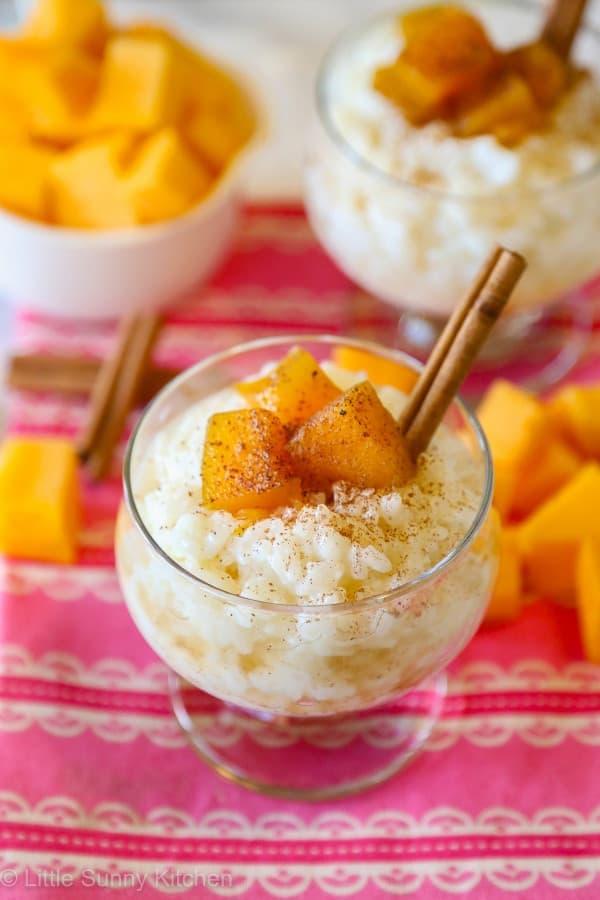 Pumpkin Spice Rice Pudding