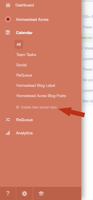 CoSchedule Create Content Views