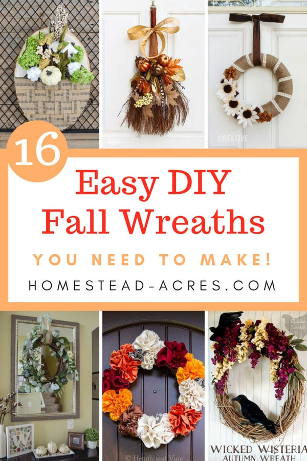 DIY Fall Wreath Ideas