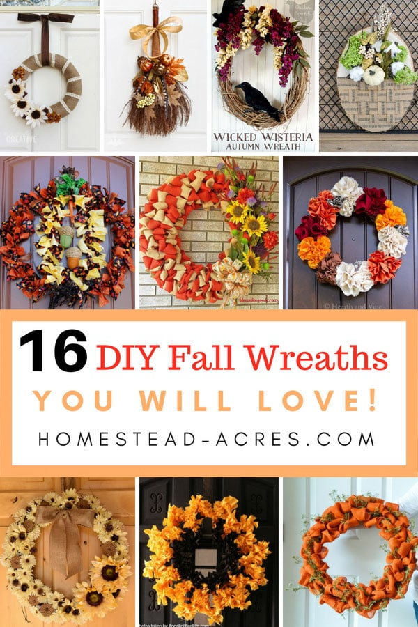 16 Easy Fall Wreath Ideas