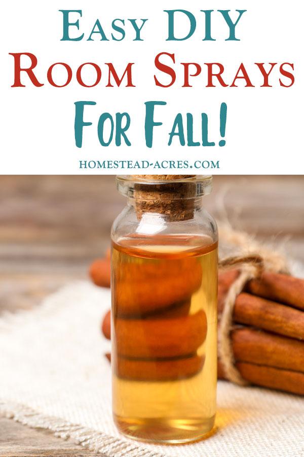 DIY Room Sprays For Fall